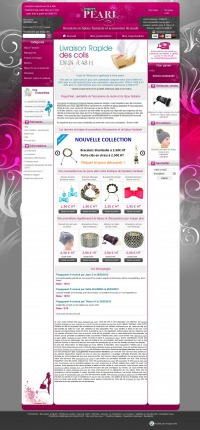 Le site e-commerce PrestaShop de PoppyPearl